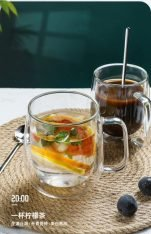 Double Layer Coffee Glass