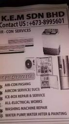 Service Air-Cond Washing Machine Electrical Things
