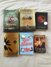 Brand new and preloved novels