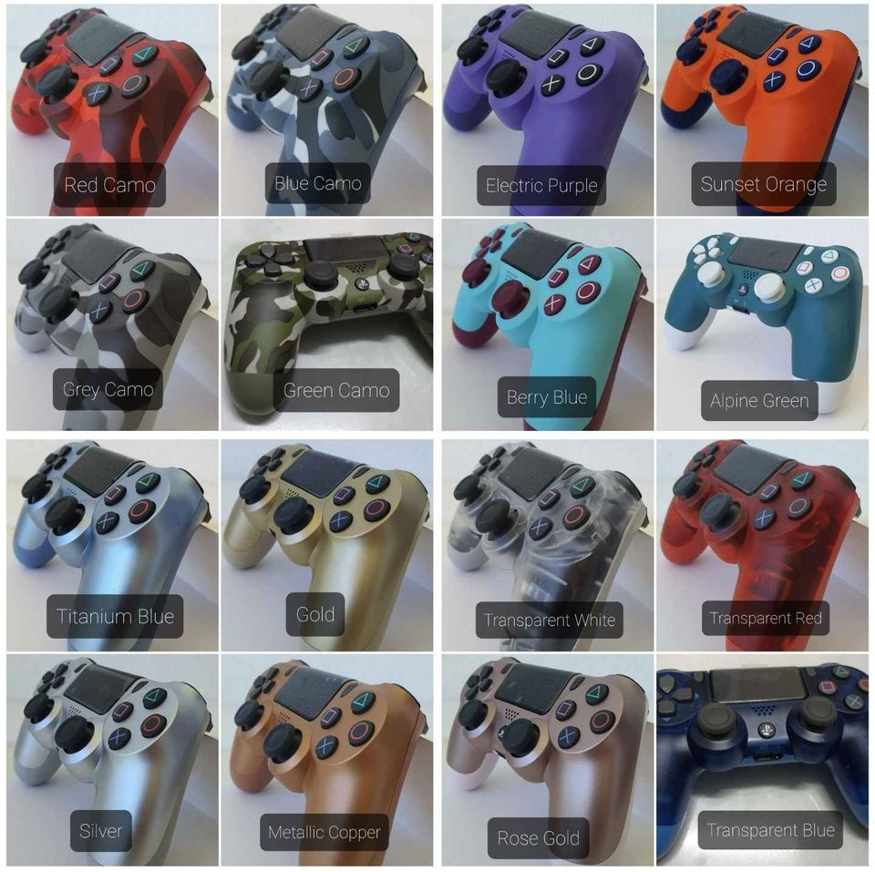 New PS4 Dualshock 4 Controller V2 & Accessories fo