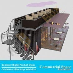 Container bar building