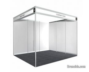 3M X 3M (Standard Size) Trade Show Booth for Sale