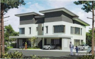SD-71 SEMI-DETACHED HOUSE FOR SALE @ JERUDONG