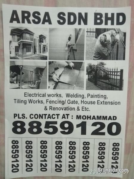 Construction Work Electrical Work