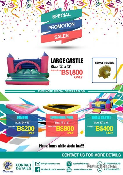 SPECIAL PROMOTION SALES