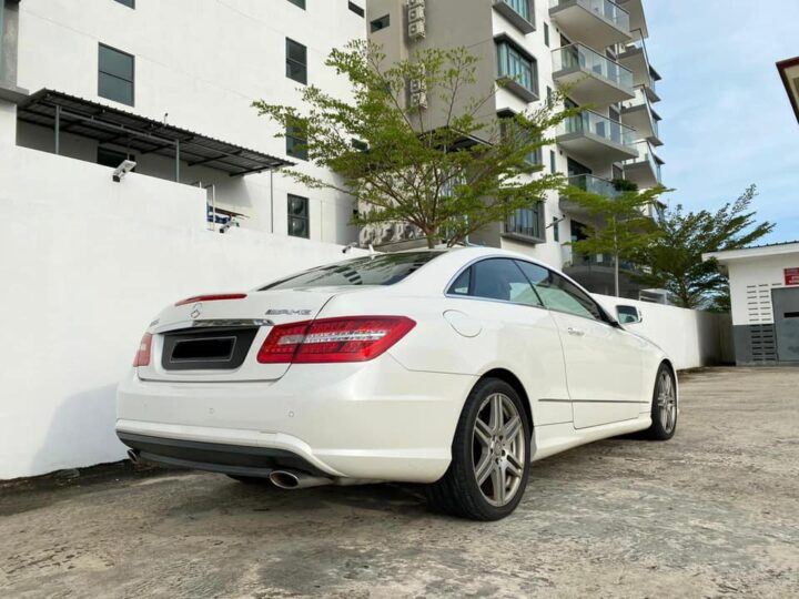Merc E350 coupe AMG sports package