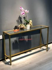 side table glass