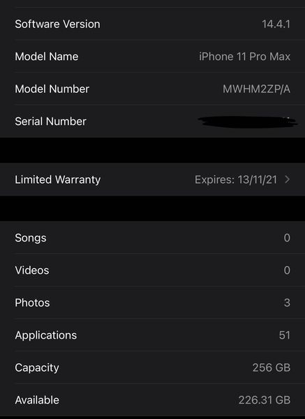 SWAP OR SALE – IPHONE 11 PRO MAX