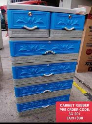 CABINET CHEST PLASTIC DRAWER