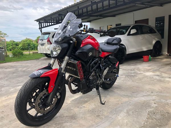MT 07 (2014) for sale CASH ONLY