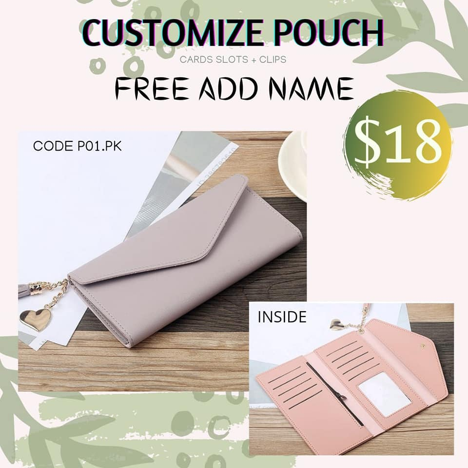 Instock Pouch & Wallet
