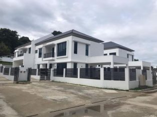 COMPLETED SEMI DETACHED HOUSE