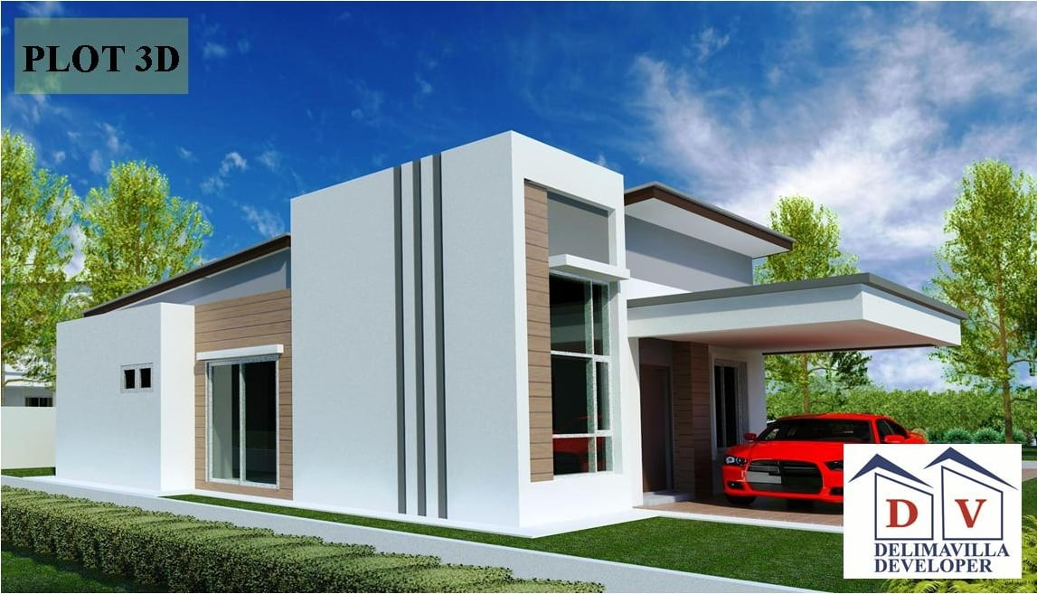 Project Single Storey Detached House at