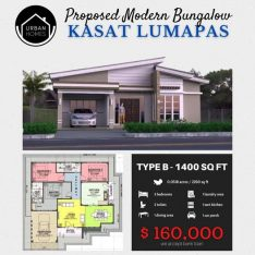 PROPOSED MODERN BUNGALOW