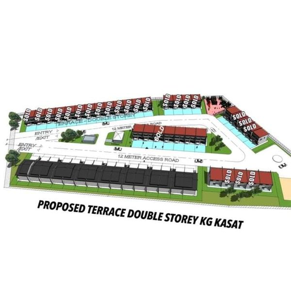 PROPOSED KASAT TERRACE DOUBLE STOREY HOUSE