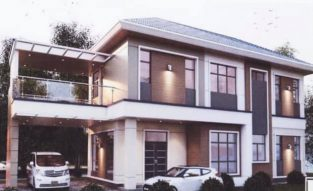 Detached Double Storey Sg Hanching House