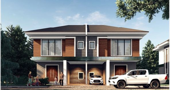 PROPOSED TWO STOREY SEMI DETACHED HOUSE