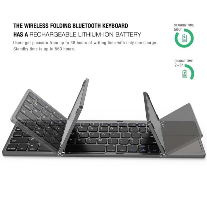 Foldable Keyboard/ Touch Pad