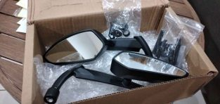 Set of motocycle mirror for sale.