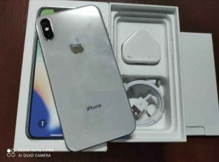 IPHONE X ( Silver )