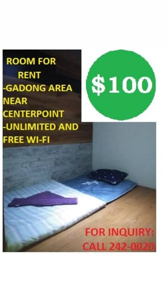 Monthly Room for RENT