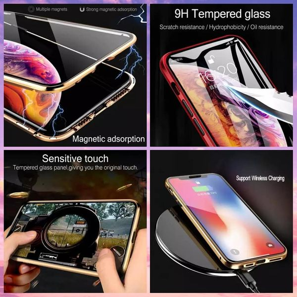 360 Metal Tempered Glass Screen