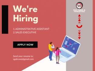 We're hiring! Jobs available