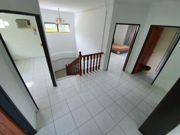 Double storey deteched house for rent at k.g kapok