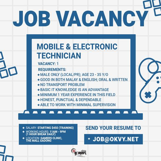 Applying for Mobile & Electronic Technician