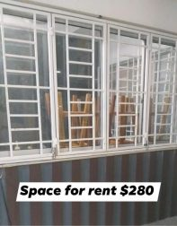 Space for rent