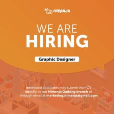 We are looking for a Graphic Designer!