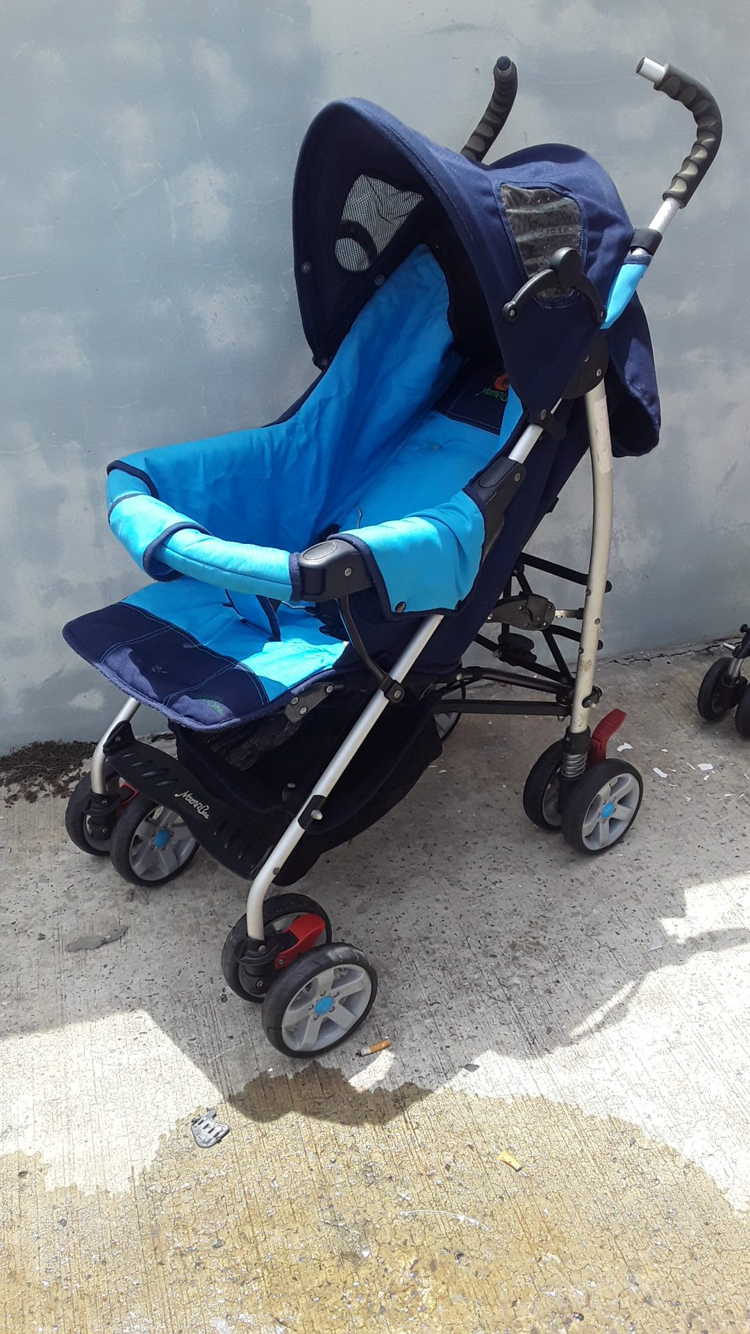 Used baby stroller