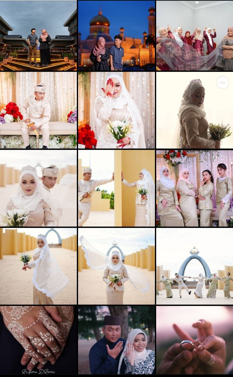 Wedding Photography Package for Bruneians