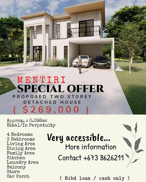 MODERN HOUSE (PROPOSED) FOR SALE