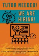 We are looking for 'O'Level Combined science teach