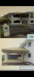 Double storey deteched house