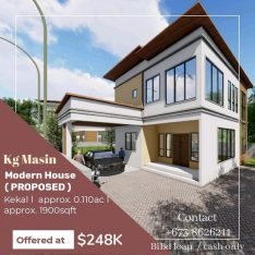 PROPOSED HOUSE FOR SALE –
