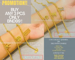 PROMOTION ANY 3 PCS ONLY $99!