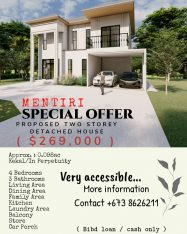 PROPOSED DETACHED HOUSE AT MENTIRI