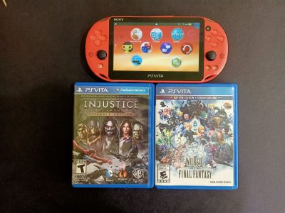 PS VITA WITH FREE 2 CD FOR SELL $200