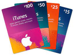 Itunes Card for Sale