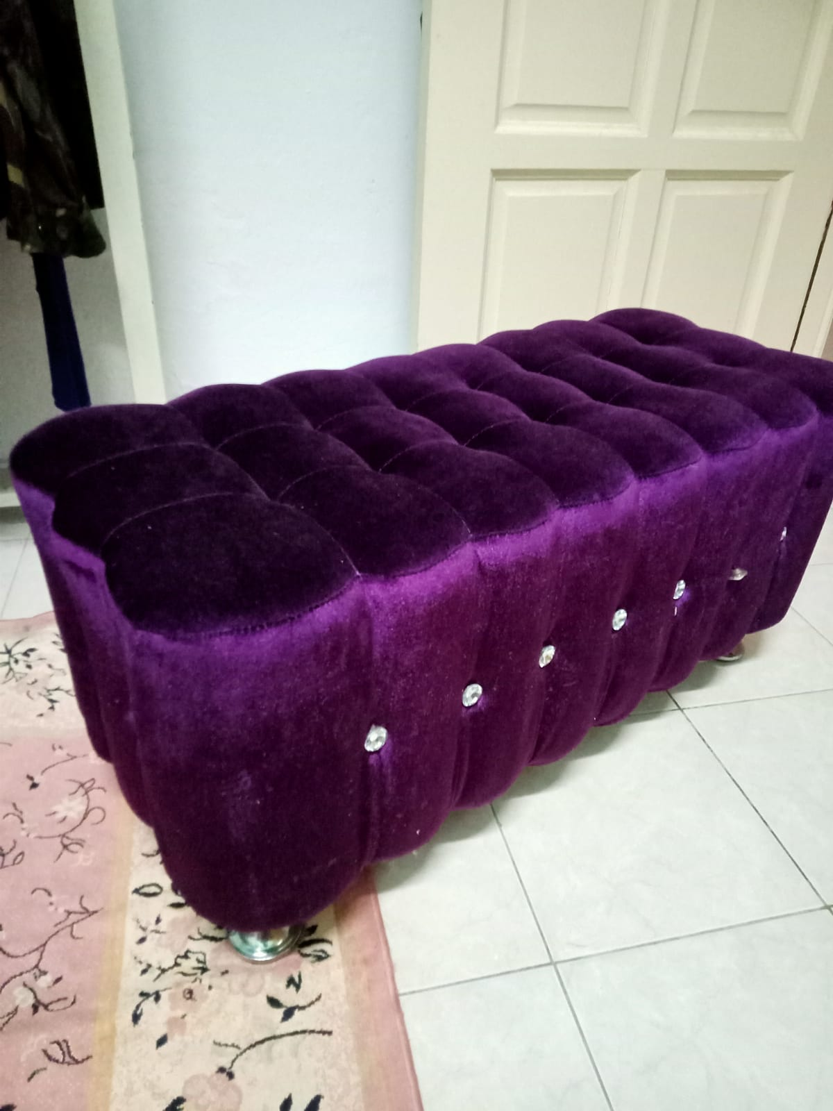 Small chair / foot rest for sale